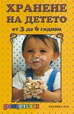 Хранене на детето от 3 до 6 години -
