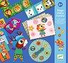 Бинго, Мемо и Домино - Комплект от 3 детски игри -