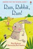 Usborne Very First Reading - Book 9: Run, Rabbit, Run! - Mairi Mackinnon -