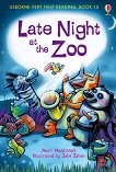Usborne Very First Reading - Book 10: Late Night at the Zoo - Mairi Mackinnon -