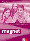 Magnet - ниво A1: Учебна тетрадка по немски език за 5. клас + CD - Giorgio Motta -