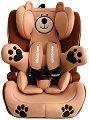 Детско столче за кола - Bear Guard: Beige - За деца от 9 до 36 kg -