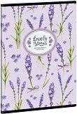 """Ученическа тетрадка - Lavender : Формат А5 с широки редове - 40 листа от серията """"Lavender"""" -"""