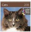 Стенен календар - Cats 2018 -