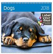 Стенен календар - Dogs 2018 -