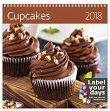 Стенен календар - Cupcakes 2018 -