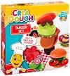 """Направи сам - Бургер - Творчески комплект с моделин от серията """"Crea Dough"""" -"""