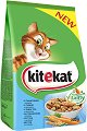 Kitekat Dry Tuna and Vegetables Adult - Суха храна с риба тон и зеленчуци за котки в зряла възраст - чували от 300 g ÷ 12 kg -
