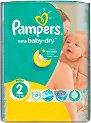 Pampers New Baby Dry 2 - Mini - Пелени за еднократна употреба за бебета с тегло от 3 до 6 kg -