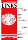 Международно списание за класическа хомеопатия: Homoeopathic Links - Брой 3-4, 2002 г. -