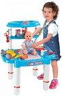 Детски лекарски кабинет - Superior Nurse - Комплект с инструменти и консумативи -