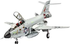 Изтребител - F-101B VooDoo - Сглобяем авиомодел -