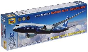 "Пътнически самолет - Boeing 787-8ТМ ""Dreamliner"" - Сглобяем авиомодел -"