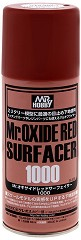 Спрей-грунд за пластмасови модели и макети - Mr. Oxide Red Surfacer 1000 - Флакон от 170 ml -
