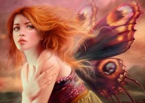 Пеперудени криле - Мелани Делон (Melanie Delon) -