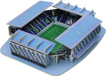 Стадион Георги Аспарухов - 3D дървен пъзел с осветление -