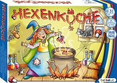 Кухнята на вещиците - Детска състезателна мемо игра -
