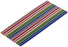 Квилинг ленти - различни цветове - Комплект от 400 броя -