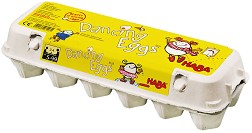 Танцът на яйцата - Забавна състезателна игра -