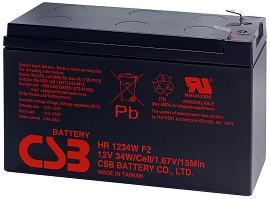 HR 1234W 12V / 9Ah - Оловно-кисела батерия за UPS устройства с размери 151 / 65 / 94 mm -
