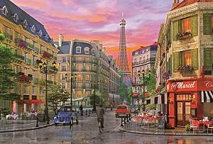 Улица Риволи, Париж - Доминик Дейвисън (Dominic Davison) -