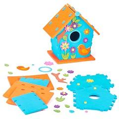 Направи сам - Декоративна къща за птици - Творчески комплект -