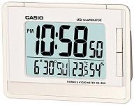 """Настолен часовник Casio - DQ-980-7 - От серията """"Wake Up Timer"""" -"""