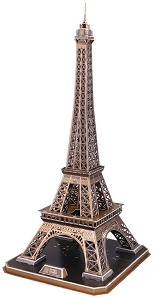 Айфеловата кула, Париж - 3D пъзел -