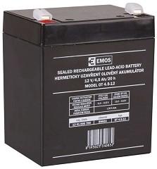 OT 4.5-12 12V / 4.5 Ah - Оловно-киселинна батерия с размери 90 / 70 / 102 mm -