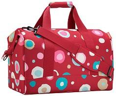 """Пътна чанта - От серията """"Allrounder: Funky Dots Red"""" -"""