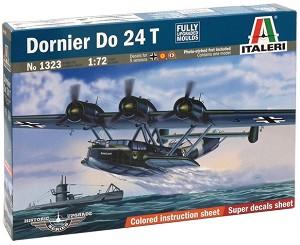 Военен самолет - Dornier Do 24 T - Сглобяем авиомодел -