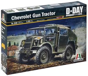 Артилерийски влекач - Chevrolet Gun Tractor - Сглобяем модел -