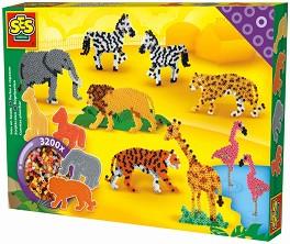 Мозайка с мъниста - Зоопарк - Творчески комплект -