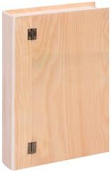 Дървена кутия - Книга - Предмет за декориране -