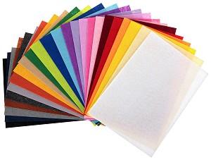 Филц - Комплект от 24 цвята - Формат A4 -