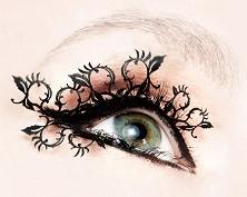 Paperself Peach Blossoms Eyelashes - Декоративни мигли -