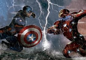 Капитан Америка: Войната на героите -
