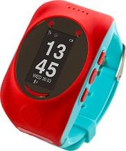 Детски GPS и GSM смарт часовник - MyKi Watch Red - Работещ със SIM карти на всички български мобилни оператори -