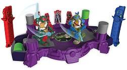 """Игрален комплект - Teenage Mutant Ninja Turtles Battroborg - Бойна електронна игра от серията """"Костенурките нинджа"""" -"""