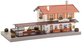 ЖП гара - Ebelsbach - Сглобяем модел -