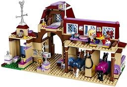 """Клуб по езда Хартлейк - Детски конструктор от серията """"LEGO Friends"""" -"""