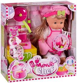 """Nena Chef - Кукла с аксесоари от серията """"Bambolina"""" -"""