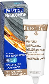 Vip's Prestige BeBlonde Hair Toner - Полутраен тонер за коса без амоняк -