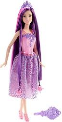 """Барби с дълга коса - Кукла  от серията """"Barbie"""" -"""