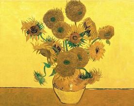 Рисуване по номера - Слънчогледи - Комплект за картина с размери 40 x 30 cm -