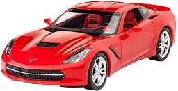 Автомобил - 2014 Corvette Stingray - Сглобяем модел -
