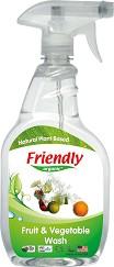 Органичен препарат за почистване на плодове и зеленчуци - Опаковка от 650 ml -