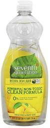 Почистващ препарат за бебешки съдове за хранене - Fresh Citrus & Ginger - Опаковка от 739 ml -