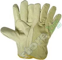 Работни ръкавици от лицева кожа - Heron - Размер 10.5 (27.5 cm) -