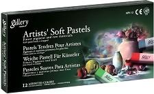"""Сухи пастели - Artists Soft Pastels - Комплект от 12, 24, 36 или 48 цвята от серията """"Gallery"""" -"""